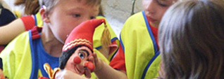 Punch and Judy Materials for Schools
